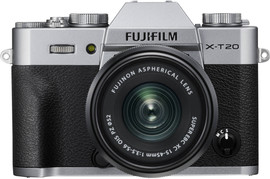 Fujifilm X-T20 Zilver + XC 15-45mm OIS PZ