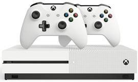 Xbox One S 1TB + 2e Controller