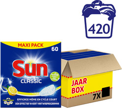 Sun Tabs Classic Lemon  60ST 7x