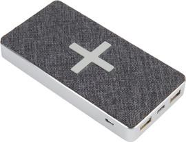 Xtorm Powerbank Wireless QI 8.000 mAh Wave Grijs