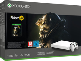 Xbox One X 1TB Fallout 76
