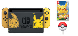 Nintendo Switch Pokemon Let's Go Pikachu Bundle