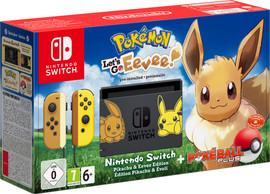Nintendo Switch Pokemon Let's Go Evee Bundle