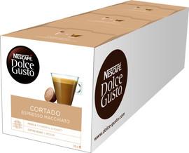 Dolce Gusto Cortado Espresso Macchiato 3 pack