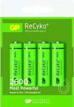 GP AA NiMH 2600 Batterijen 4-pack