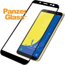 PanzerGlass Screenprotector Samsung Galaxy J6 (2018) Zwart