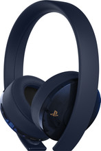 Sony PlayStation Wireless Gold 7.1 Gaming Headset Blauw
