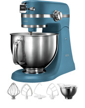 AEG KM5560 Keukenmachine Sterling Blue