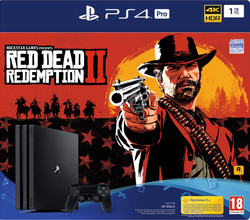 Sony PlayStation 4 Pro 1 TB Red Dead Redemption 2 Bundel NL