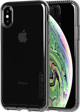 Tech21 Pure Carbon Apple iPhone X/Xs Back Cover Zwart