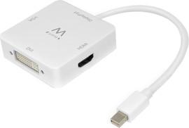 Ewent Mini DP to HDMI / DVI / VGA Converter