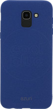 Azuri flexible sand Galaxy J6 (2018) Back Cover Blauw