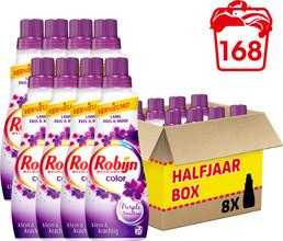 Robijn Klein & Krachtig Color Purple Vloeibaar pakket