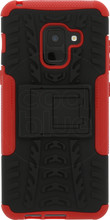 Just in Case Rugged Hybrid A8 2018 Back Cover Rood