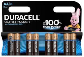 Duracell Ultra Power alkaline AA-batterijen 8 stuks