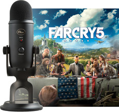 Blue Yeti Blackout + Far Cry 5