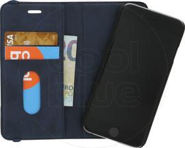 Azuri Luxe 2-in-1 Wallet Apple iPhone 6/6S Book Case Blauw