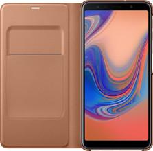 Samsung Galaxy A7 (2018) Wallet Book Case Goud