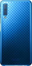 Samsung Galaxy A7 (2018) Gradation Clear Back Cover Blauw