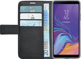 Azuri Wallet Magneet Samsung Galaxy A7 (2018) Book Case Zwar
