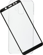 Azuri Protection Galaxy A6 (2018) Full Body Transparant