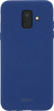 Azuri flexible sand Galaxy A6 (2018) Back Cover Blauw