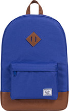 Herschel Heritage Deep Ultramarine/Tan Synthetic Leather