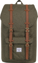 Herschel Little America Ivy Green Slub/Tan Synthetic Leather