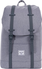 Herschel Retreat Mid-Volume Mid Grey Crosshatch