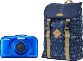 Nikon Coolpix W100 Backpack Kit Denim