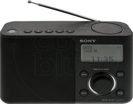 Sony XDR-S61D Zwart