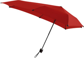 Senz Manual Stormparaplu Passion Red