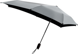 Senz Automatic Stormparaplu Shiny Silver