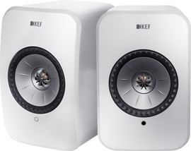 KEF LSX wireless stereo systeem Wit (per paar)