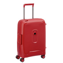 Delsey Moncey Slim Cabin Size Trolley 55cm Rood