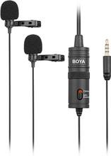 Boya BY-M1DM Duo Lavalier Microfoon
