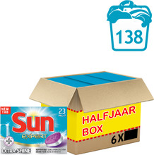 Sun All-in-1 Tabs Extra Shine 23ST 6X