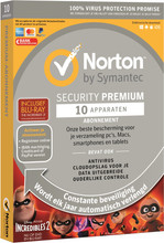 Norton Security Premium 2018 | 10 Apparaten | Incredibles 2