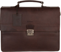 Burkely Vintage Dean Briefcase 3 Bruin