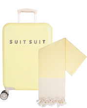 SUITSUIT Fabulous Fifties Spinner 55cm Mango Cream