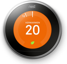 Nest Learning Thermostat V3 inclusief Installatie