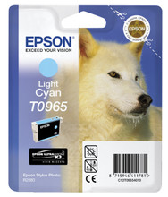 Epson T0965 Light Cyan Ink Cartridge (licht blauw)