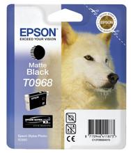 Epson T0968 Matte Black Ink Cartridge (mat zwart)