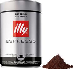 Illy Dark Roast gemalen koffie 250 gram