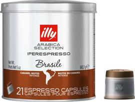 Illy Iperespresso Capsules Brazil 21 stuks