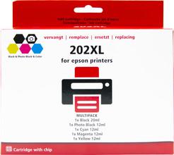 Huismerk 202XL 5-pack voor Epson printers (C13T02G74010)