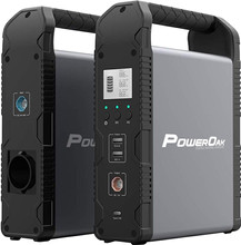 PowerOak PS1 Solar Powerbank 54.000 mAh