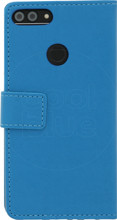 Just in Case Wallet Huawei P Smart Book Case Blauw