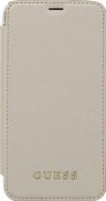 Guess Iridescent iPhone X Book Case Goud