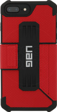 UAG Metropolis Magma iPhone 6+/6s+/7+/8+ Book Case Rood